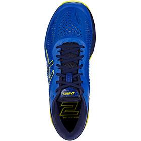 asics Gel-Kayano 25 Shoes Men Asics Blue/Lemon Spark